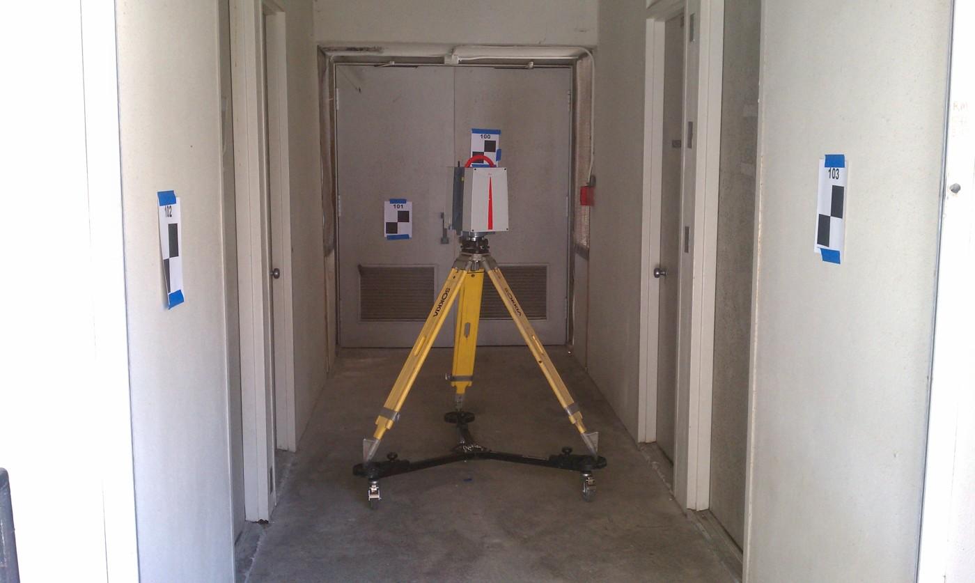 Phase Based Laser Scanning