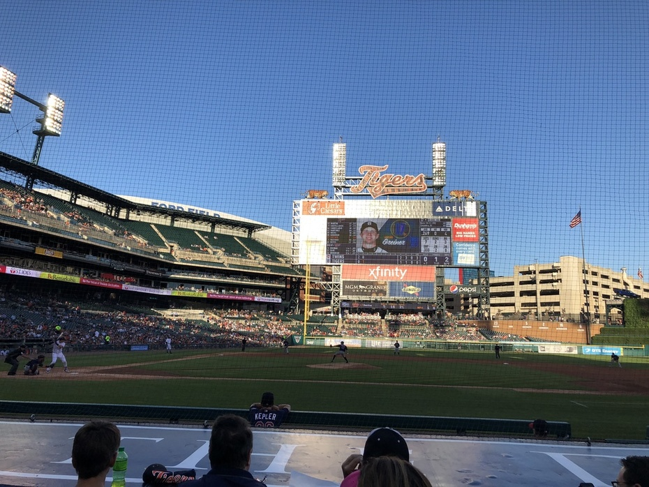 Beautiful day for a game!