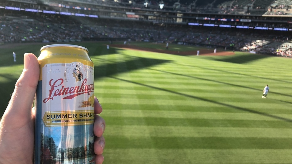 Different beer, different ballgame