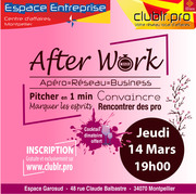Afterwork Club LR de Mars!