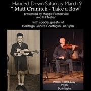 """"""" Matt Cranitch - Take a Bow"""""""