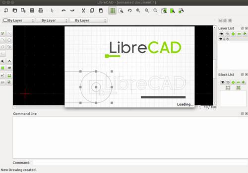 LibreCAD Free CAD software