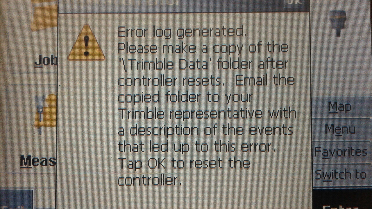 Trimble TSC2 Error Log - Land Surveyor Community Forum - Land