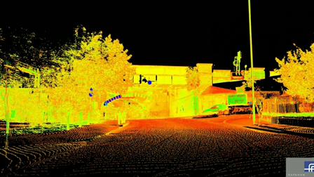 Road Bridge - Scan Data Aminmation