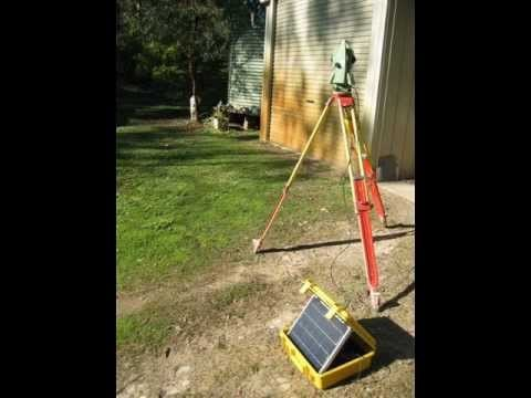 Solar Panel Theodolite  - a World first!!!