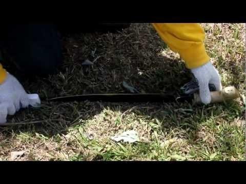 Surveying: Machete Sharpening