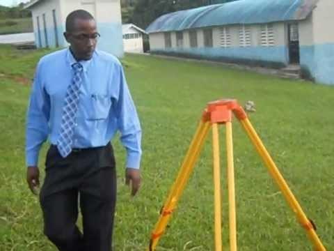 BASICS: Land Surveying procedure, setting up the instrument