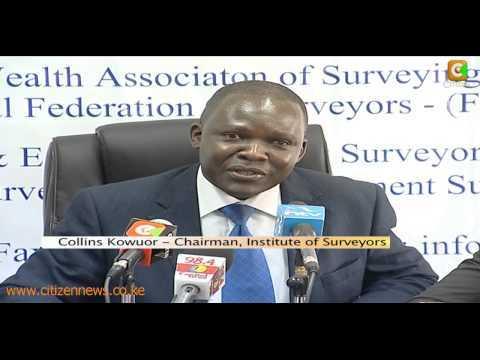 Surveyors On Land Issue