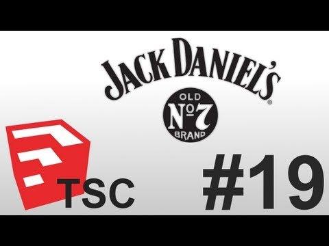 Exercise: Building A Jack Daniels Bottle In Trimble Sketchup