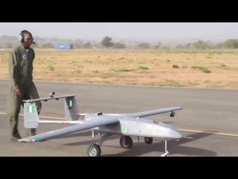 Nigeria's First Indigenous Drone Flight - Gulma Tactical UAV NAF 611