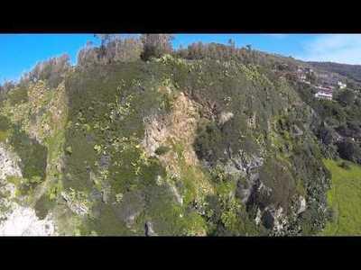 UAV-based topographic surveying at Punta di Zambrone (Italy)