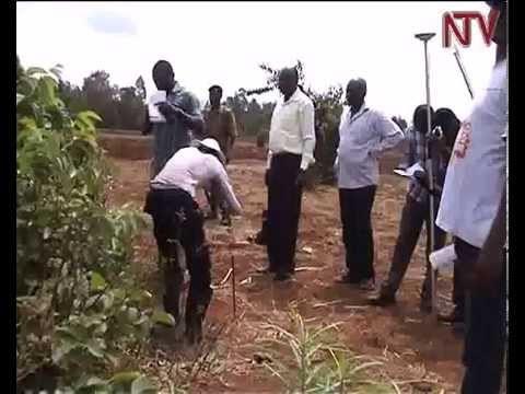 Surveyors begin demarcation of Uganda-Kenya border