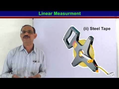 "Linear Measurments ""Chain Surveying"" in Hindi"