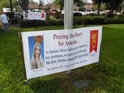 Rosary Rally every October, Poinciana Florida