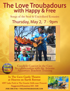 The Love Troubadours with Happy & Free - PRESCOTT