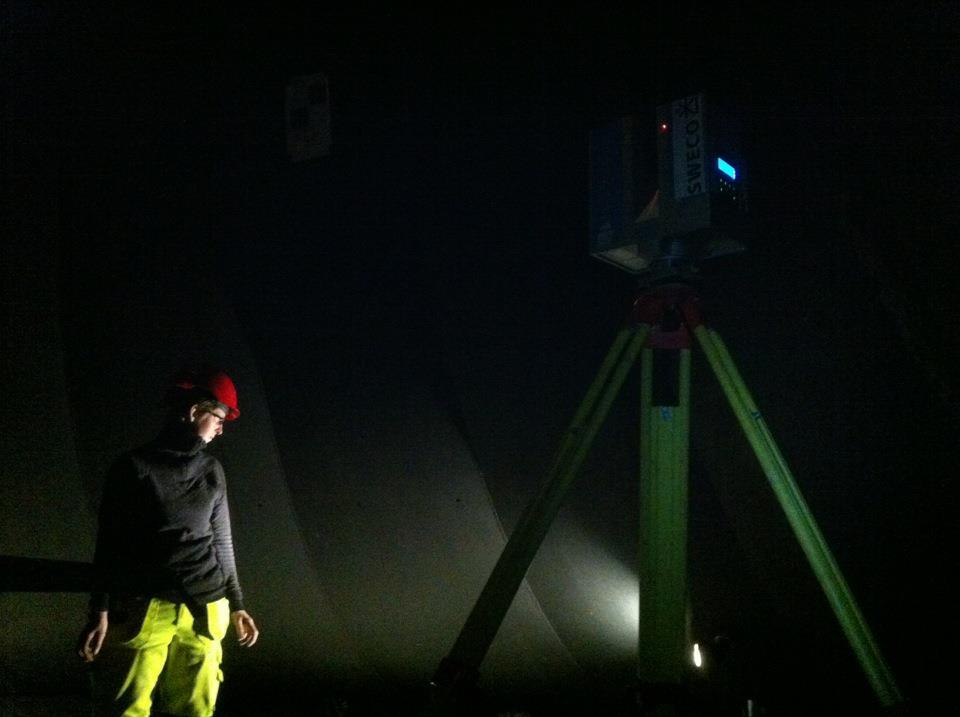 Scanning in darkness