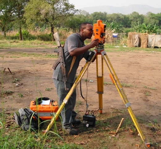 Surveying in South Sudan