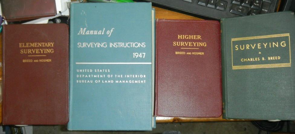 surveying books