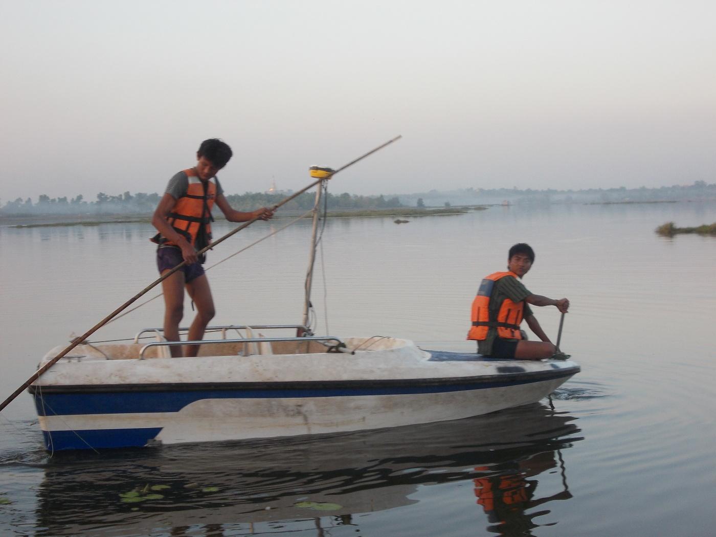 Myanmar Boat Surveying