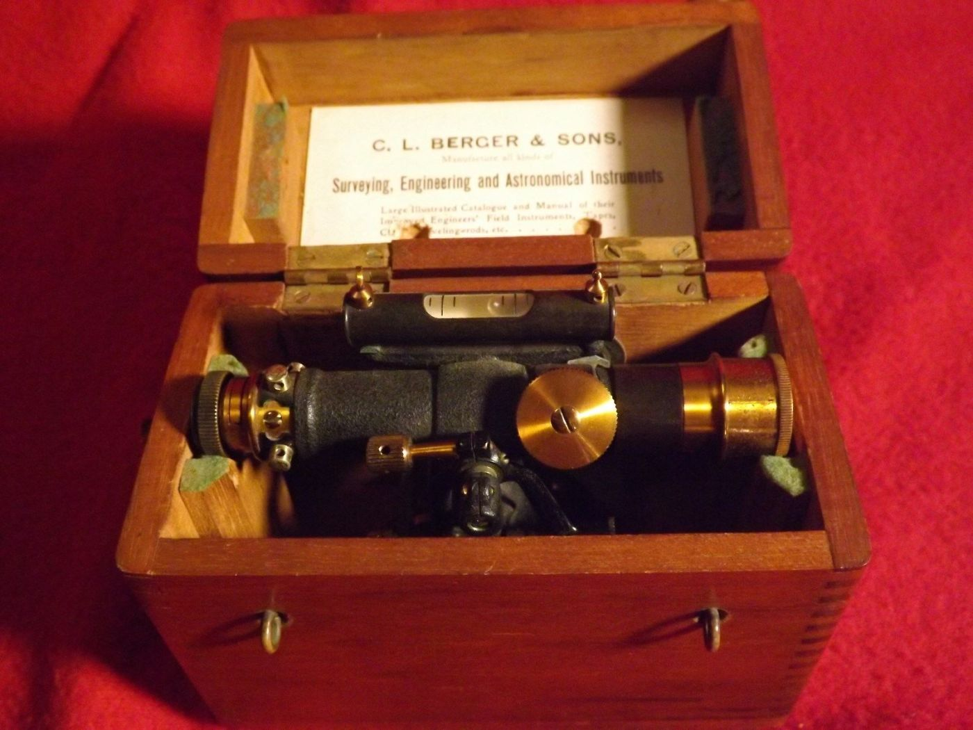 C.L Berger and Sons Instrument