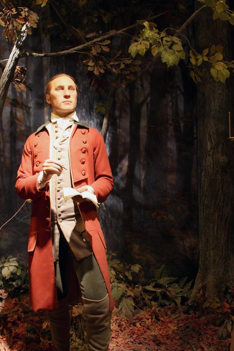 George Washington Surveyor Wax