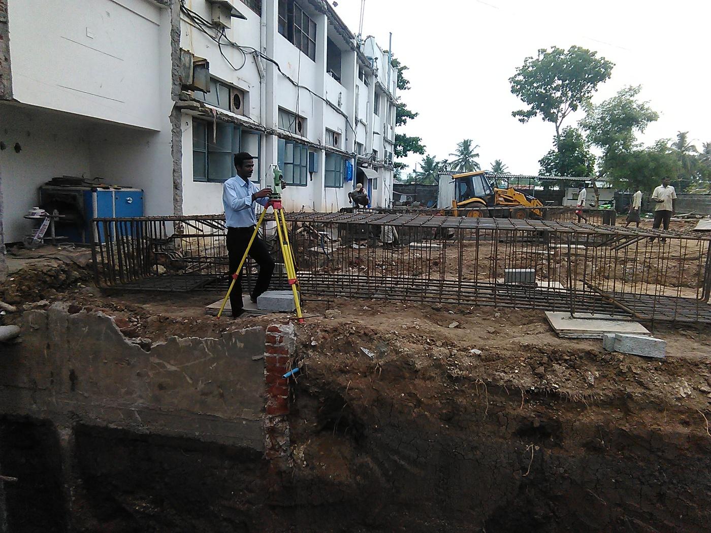Surveying Coimbatore, Tamil Nadu