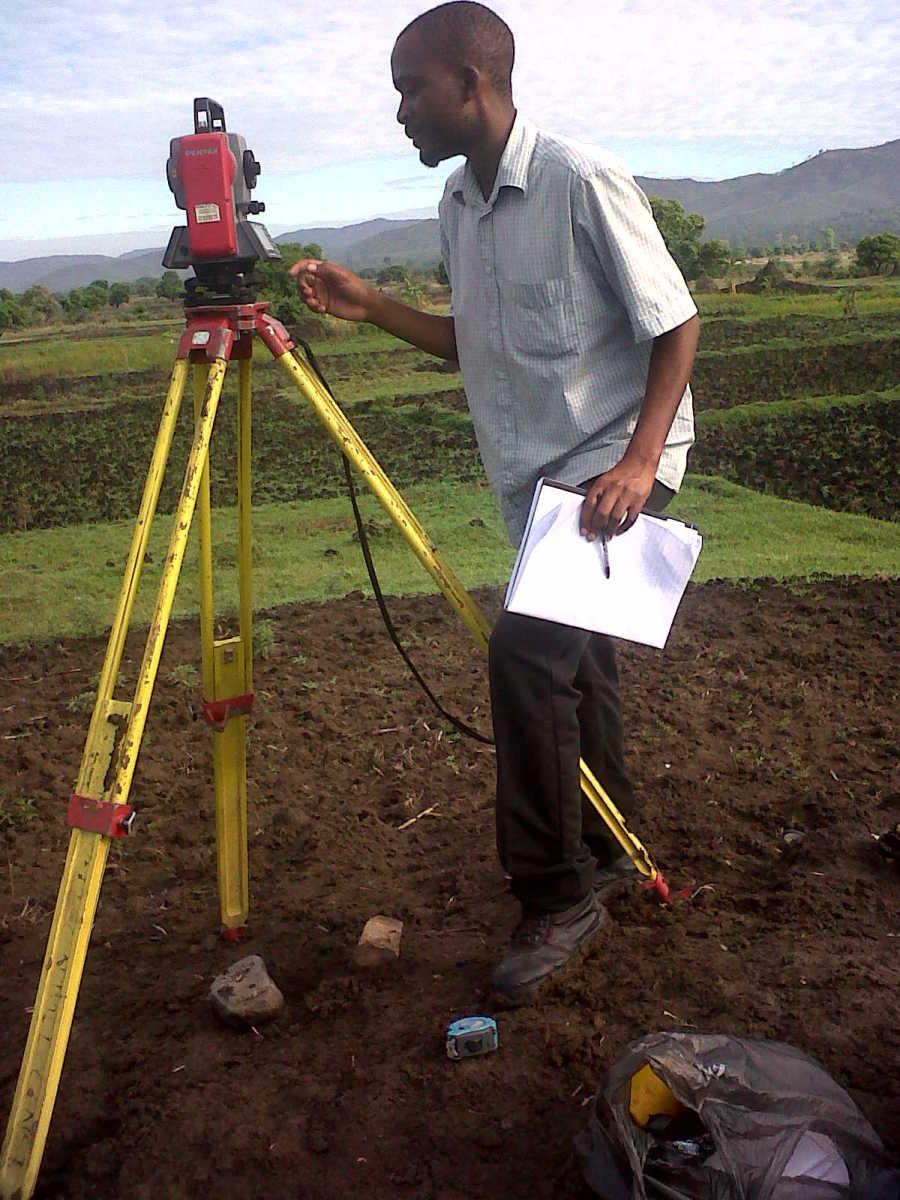 Surveying Malawi Africa