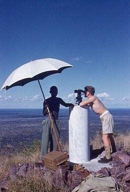botswana surveying 1954