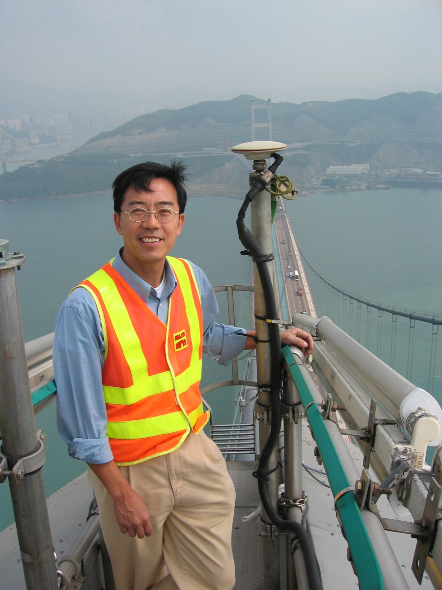 TSING MA BRIDGE HONG KONG GNSS RTK