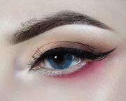 Blushed Eyes