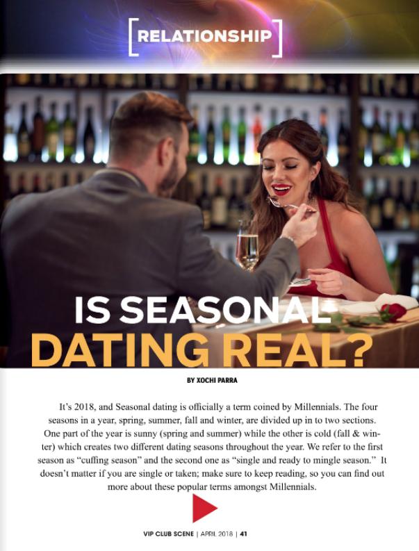 Is Seasonal Dating Real?...