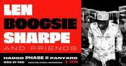 Len Boogsie Sharpe & Friends in 'Love in the Village'