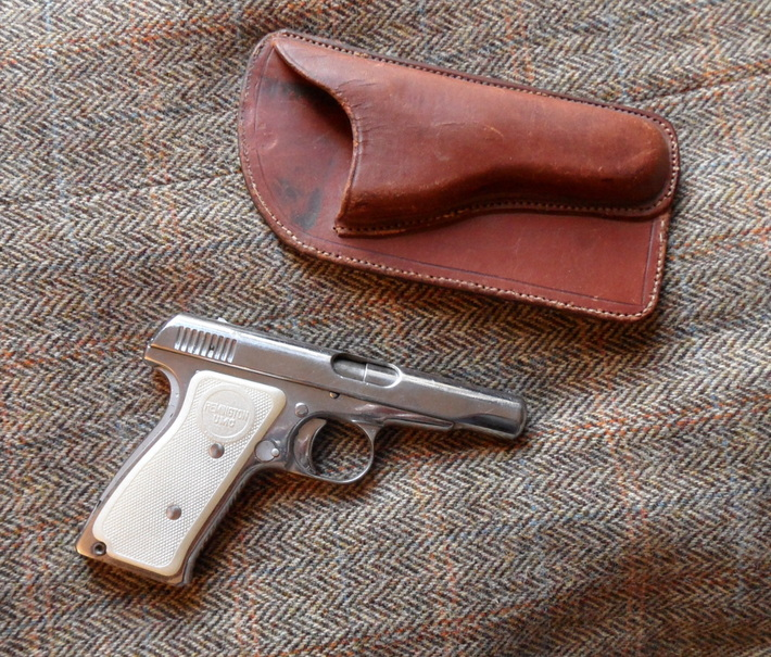 R51 with pocket holster.