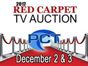 PCT 2017 Red Carpet TV Auction