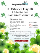 Pacifica Runners St Patrick's 5K and Bella's Kids Dash 2018