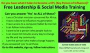 Leadership& Social Media Training