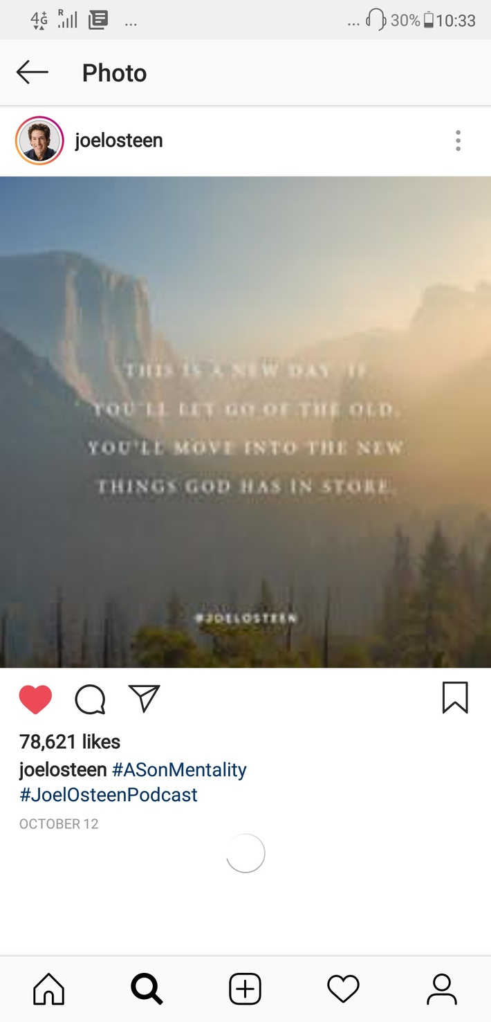 Move apart from the old,you will see the new things that God has in store.