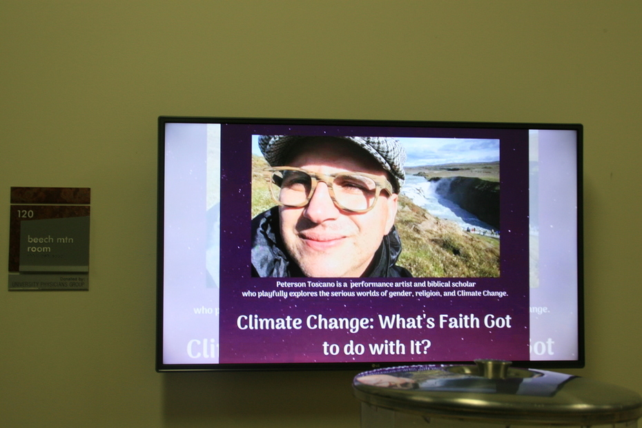 Climate Change: What's Faith Got to do with it?