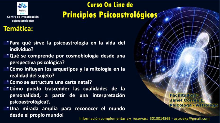 Curso On Line Psicoastrológico 30 07 18_astroeka