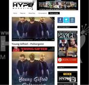 HYPE MAGAZINE Featuring Young Gifted Hit Single Poltergeist