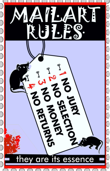 MAILART RULES