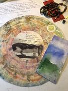 Gorgeous mail art from Heide Monster!