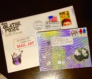 Received Mail art