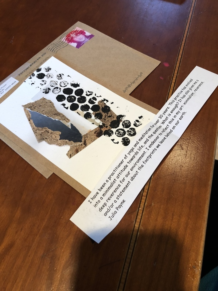 Beautiful mail art and words