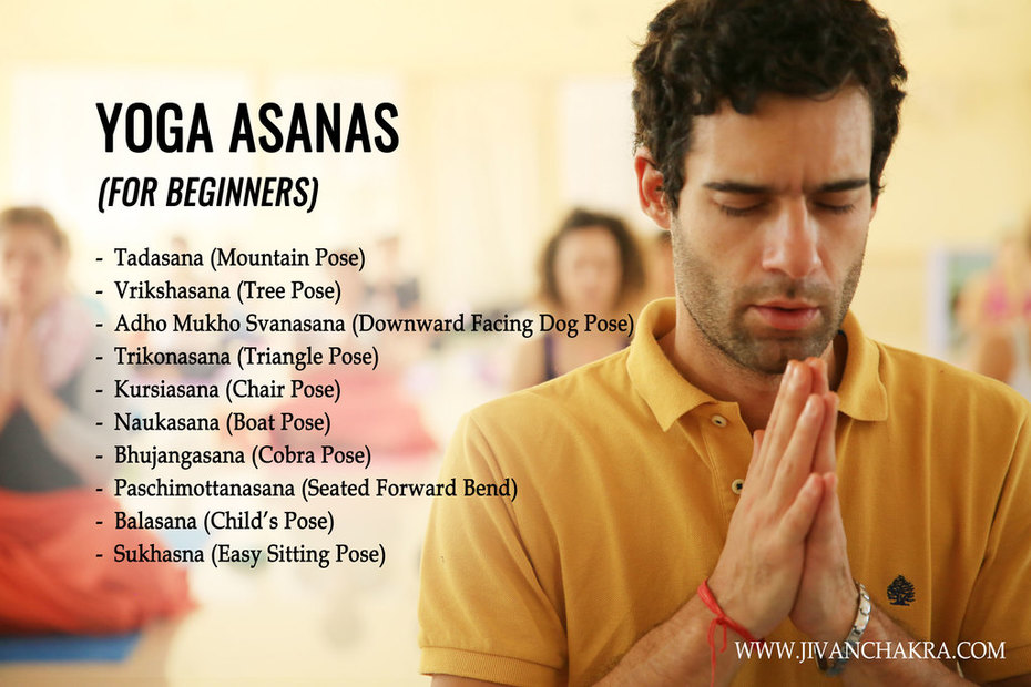 Yoga Asanas(For Beginners)