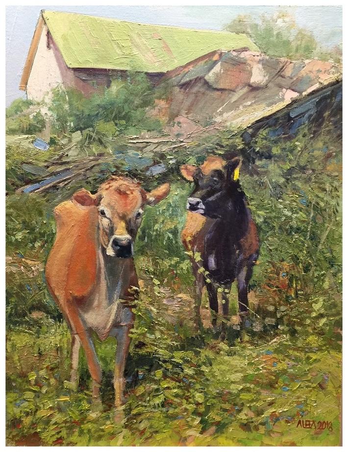 Yellow Tag (Honoring Greenbacker Cows of Durham CT)jpg