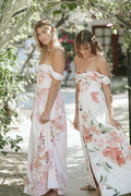 Bridesmaid Dresses and Robes