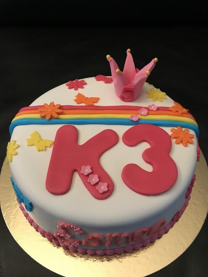 k3 taart - jouwtaart