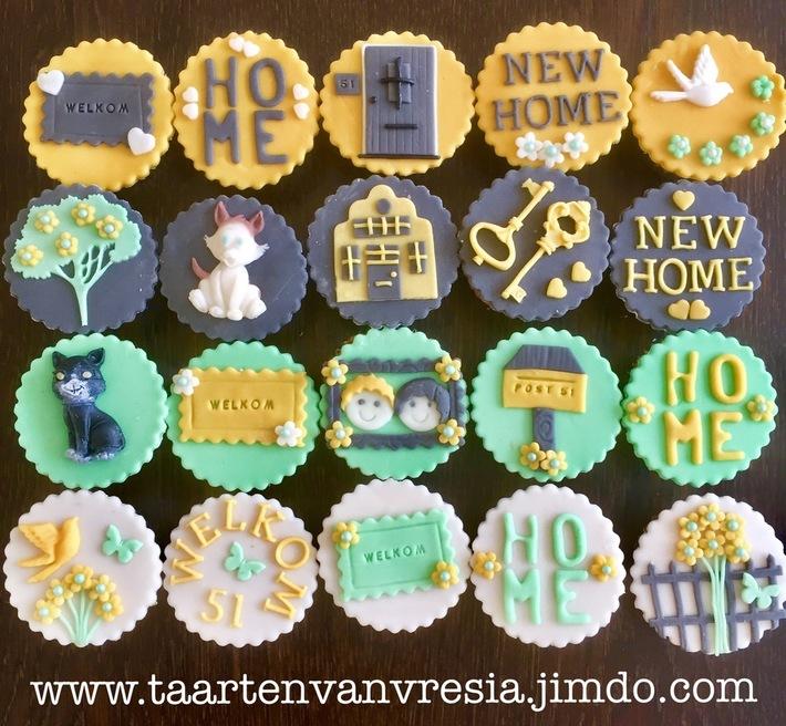 Housewarmingsparty cupcakes