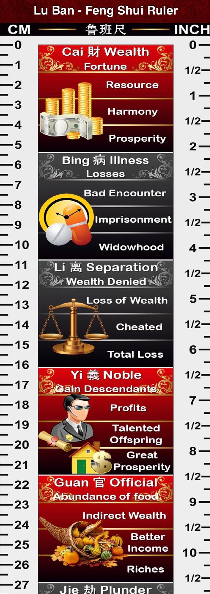 Lu Ban Ruler